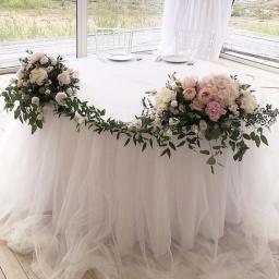 Arreglo de mesa casamiento