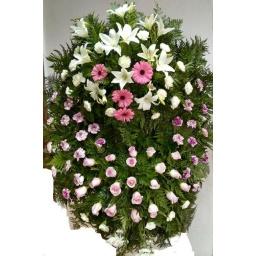 Corona de flores naturales PREMIUM