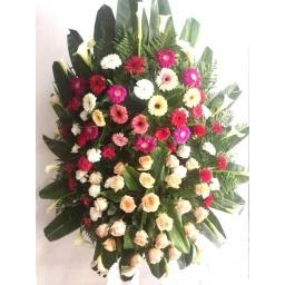 Corona de flores naturales DIPLOMAT