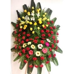 Corona de flores naturales INTERMEDIA