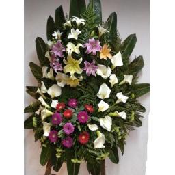 Corona de flores naturales STANDARD