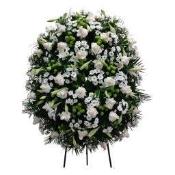 Corona de flores naturales DELUXE
