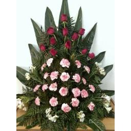 Palma de flores naturales chica