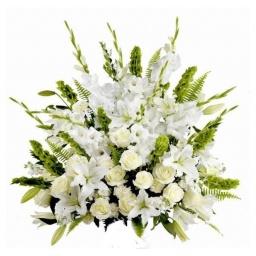 Palma de flores naturales classic